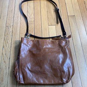 NWT Gianni Chiarini bag in gorgeous cognac color